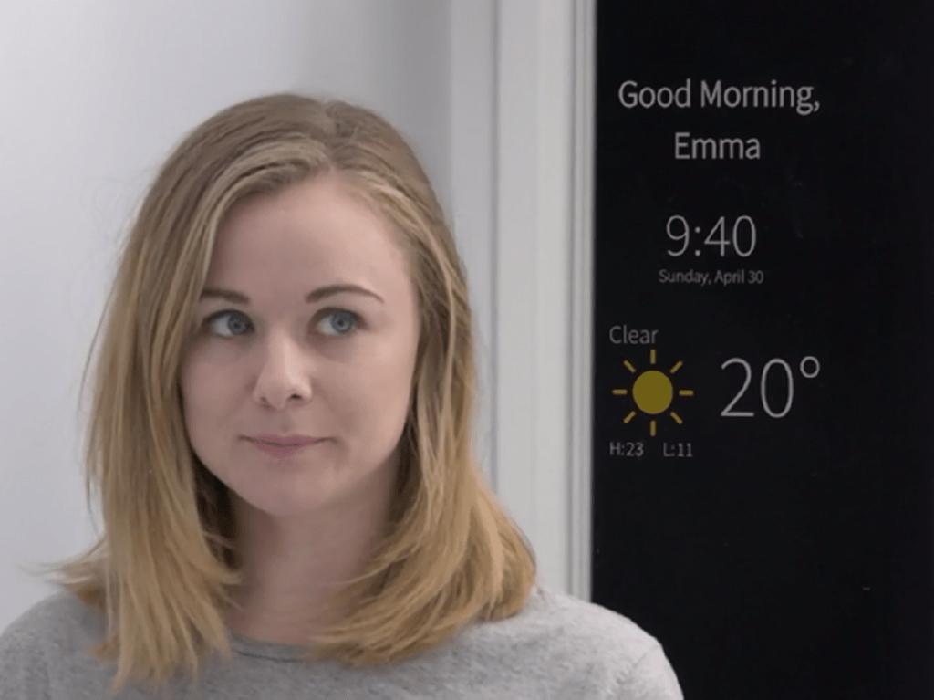 Specchio Intelligente digitale interattivo