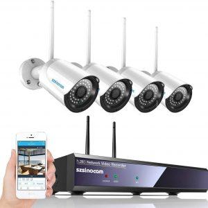 Kit Telecamere Videosorveglianza WiFi