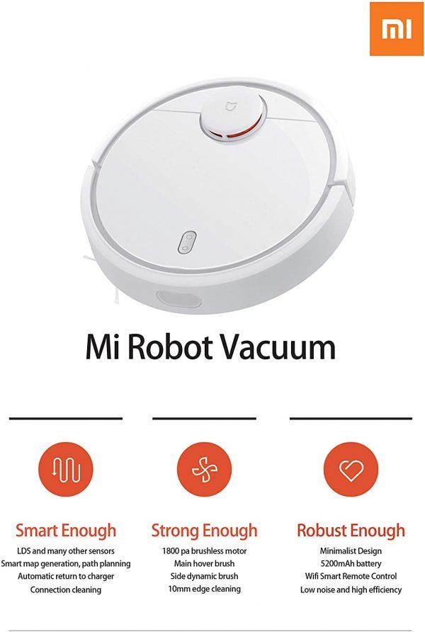 Xiaomi SDJQR02RR Mi Robot Aspirapolvere