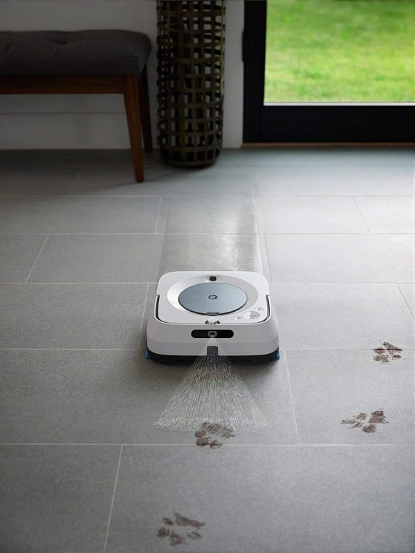 iRobot Braava Jet m6 (6134), lavapavimenti WiFi