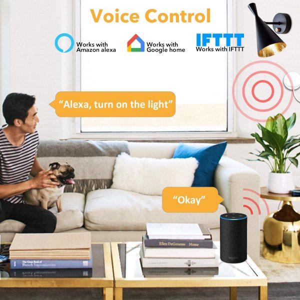 Interruttore Luci Wifi Intelligente - Compatibile con Alexa, Google, IFTTT