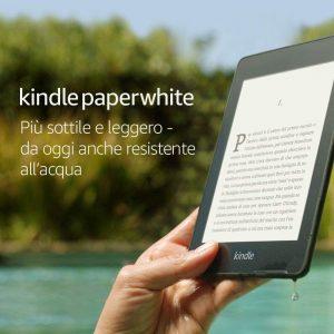 """Kindle Paperwhite Resistente all'acqua, schermo ad alta risoluzione da 6"""", 8 GB"""