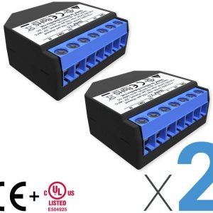 Shelly 2.5 Wireless Dual relè Interruttore Intelligente