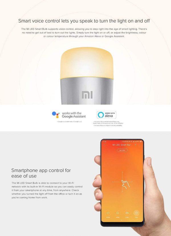Xiaomi Mi LED Lampadina Colorata WiFi
