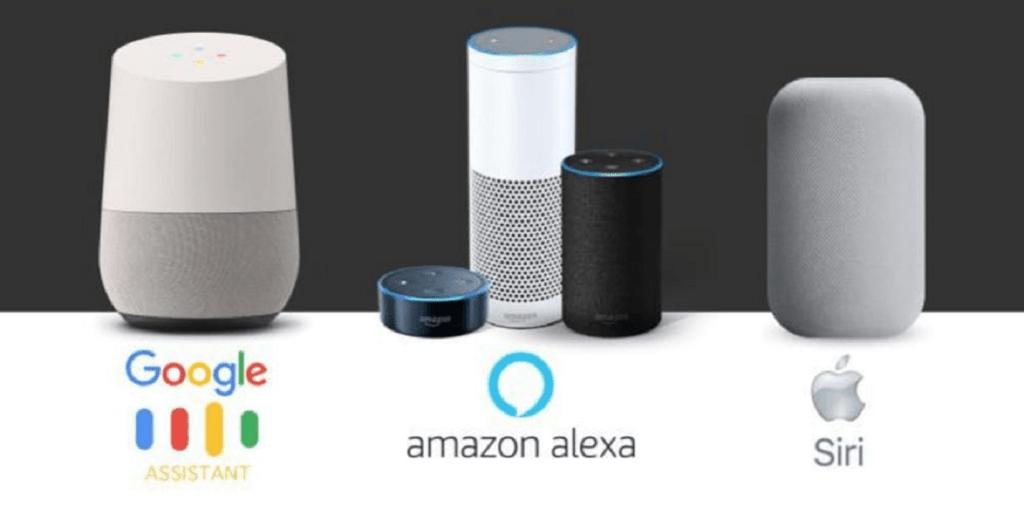 Google Alexa e Siri