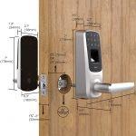 Ultraloq serratura intelligente UL3 Keyless impronte digitali e touchscreen abilitati con codice