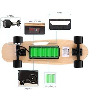 Skateboard elettrico - come funziona e quanto costa?