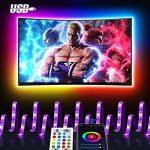 Striscia LED Maxcio - USB TV Controllata da Smart Life, Striscia LED TV  Wifi