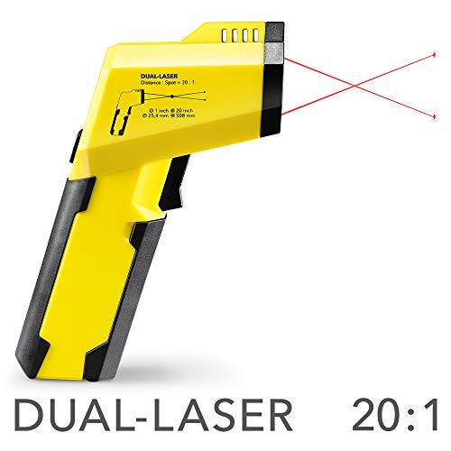 Pirometro a infrarossi e Scanner del punto di rugiada