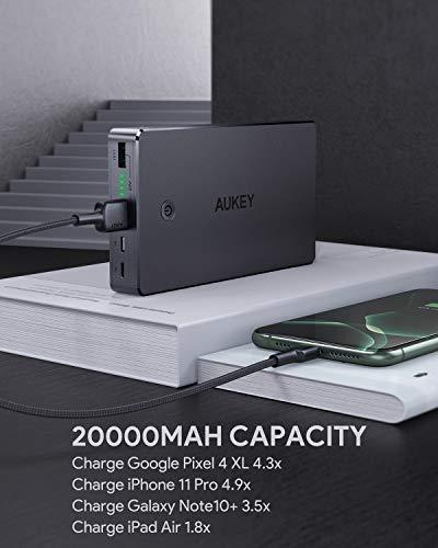 AUKEY Powerbank 20000mAh - Caricabatterie Portatile