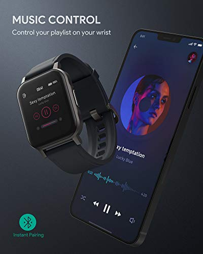 AUKEY Smartwatch Full Touch - Orologio Fitness Activity Tracker