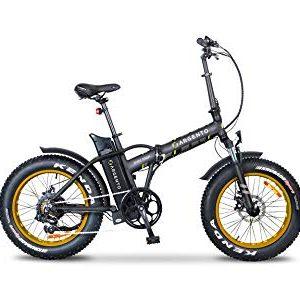 Argento Bicicletta Elettrica Minimax