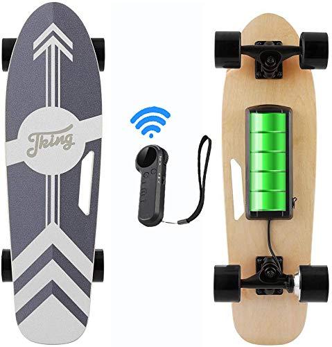 Caroma Skateboard Elettrico da 70 cm con motore da 350 W