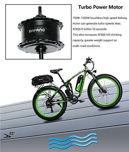 Extrbici XF800 Bici Elettrica - Mountain eBike 750W