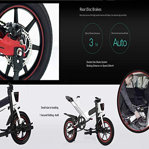 """Fafrees Bicicletta Elettrica Pieghevole 14"""" - Modello Y1"""