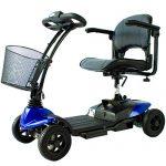Scooter Elettrico 4 ruote Virgo per adulti - Compatto e Smontabile