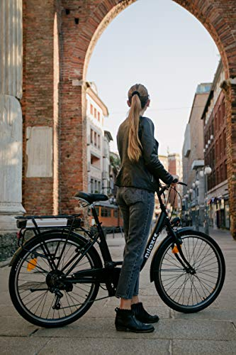 Nilox J5 eBike – Bicicletta Elettrica Unisex per Adulto