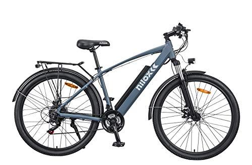 Nilox X7 eBike - Bicicletta Elettrica Unisex per Adulto, Blu Niagara