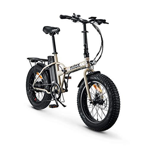 Nilox X8 eBike - Bicicletta Elettrica Unisex per Adulto, Sabbia