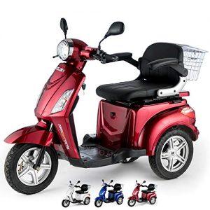 Scooter Elettrico 3 Ruote VELECO ZT15 per Disabili e Anziani